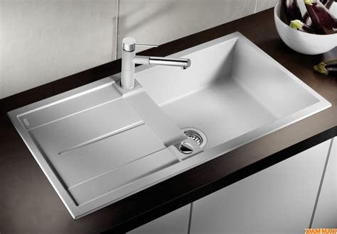 shop blanco drainer sink metra  anthracite xammax