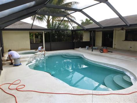 pool decks and patios paint painting artists corp painting company port st fl