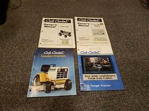 Cub Cadet 1811 Owners Manual 50 Deck Manual And Brochures