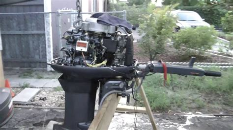Yamaha Outboard Motor Oil 2 Stroke by Repairing My Yamaha 40hp 2 Stroke Outboard Motor Funnycat Tv
