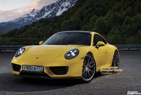 Porsche Novita 2019 by 2019 Porsche 911 Imagined With Modern Design Carscoops