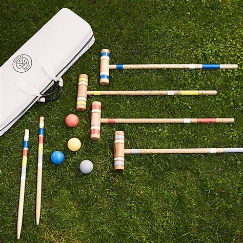 Backyard Croquet by Croquet Set Reviews Crate And Barrel