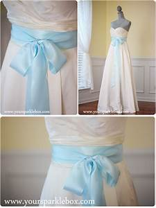 tiffany blue bridal sash With tiffany blue wedding dress sash