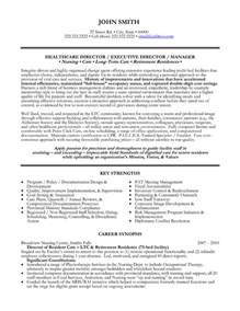 healthcare executive resume templates top health care resume templates sles