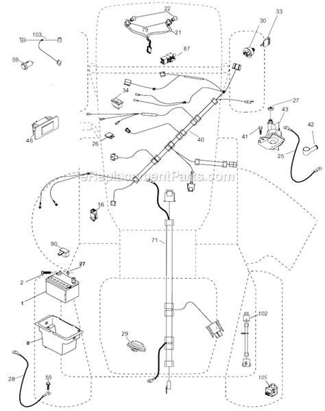Husqvarna Lawn Mower Wiring Diagram by Husqvarna Yth2148 Wiring Diagram