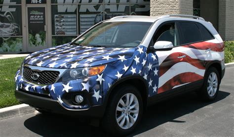 patriotic wrap  car wraps  vehicle wraps gatorwraps