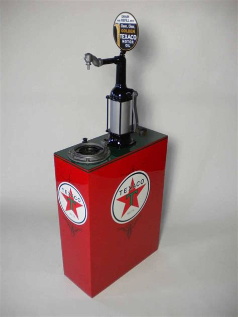 Perfectly restored 1930s Texaco service station 30 gallon