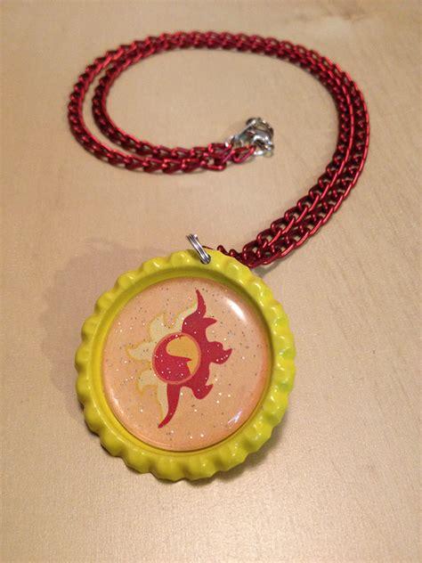 Sunset Jewelry Sunset Shimmer Mlp Necklace Handmade By Monostache On