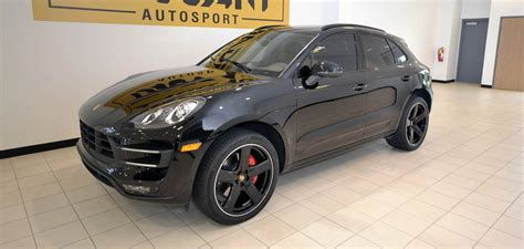 porsche macan 2015 for sale 2015 porsche macan turbo for sale at taggart autosport