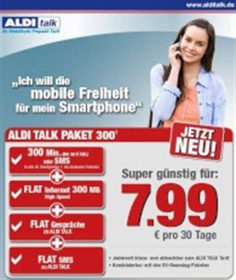 aldi talk neues smartphone paket fuer  euro ab sofort