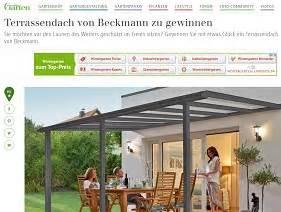 Mein Schöner Garten Gewinnspiel  Terrassendach Gewinnen