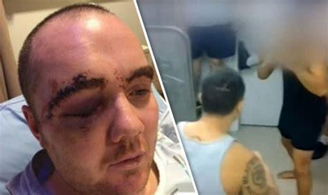 zealand prison gangs force inmates  scrap  savage