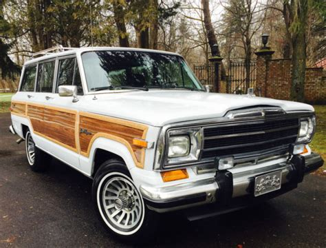 classic jeep wagoneer for sale 1991 jeep grand wagoneer grand wagoneer by classic