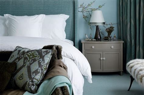 Turquoise And Gray Bedrooms