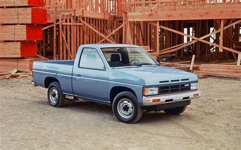 nissan hardbody pickup front  quarter blue