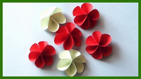 diy paper flowers  easy  simple paper crafts