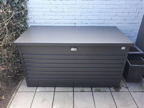 Www Biohort Biohort Freizeitbox Die Wasserdichte Auflagenbox Aus Metall
