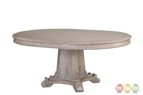 antique grey dining table renaissance antique grey extendable round dining table