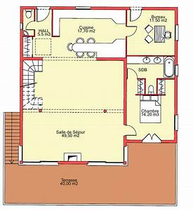 plan dune maison sur pilotis With plan de maison sur pilotis