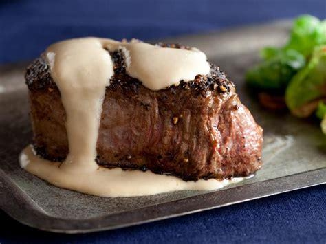 steak au poivre recipe alton brown food network