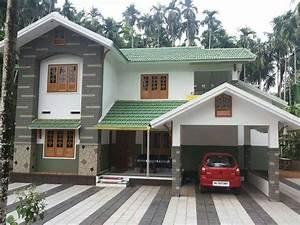 2400, Square, Feet, Double, Floor, Kerala, Home, Design