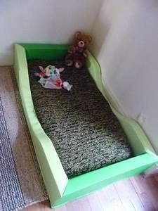 Lit Au Sol Pour Bébé : litchi le lit au sol et nous ~ Dallasstarsshop.com Idées de Décoration