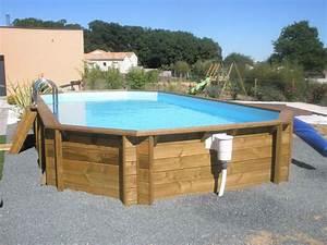 piscine bois hexagonale hors sol With attractive prix liner piscine hors sol octogonale 6 piscine bois octogonale semi enterree