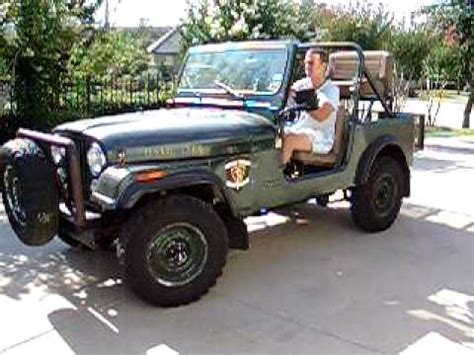 hunting jeep for sale 1984 jeep cj 7 4wd hunting vehicle reduced for quick sale