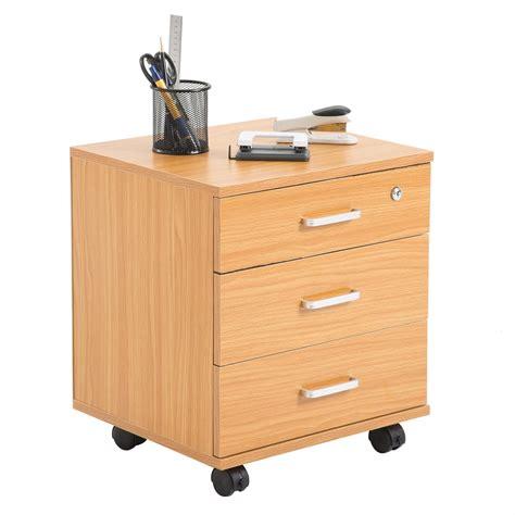 caisson de bureau sur roulettes caisson de bureau rangement sur roulettes 3 tiroirs 3
