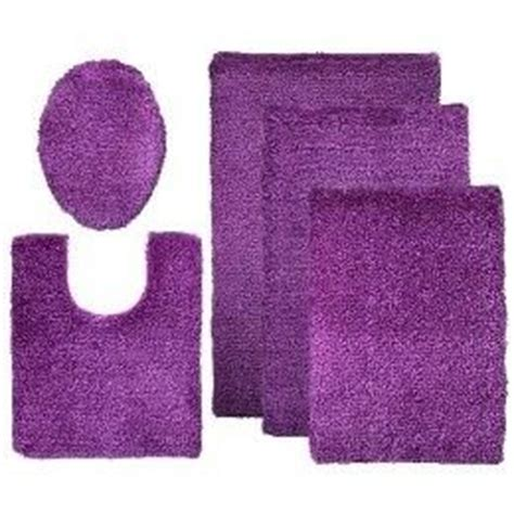 purple bath rug set at target acess 243 rios de banheiro