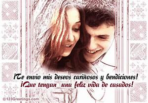 a spanish card for wedding free wedding etc ecards With wedding cards messages in spanish