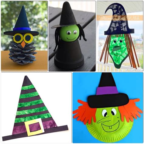 Witch Crafts For Kids  More Halloween Fun!  Our Little