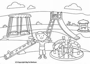 Park clipart outline - Pencil and in color park clipart ...