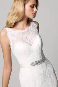 illusion neckline bridesmaid dress favorite illusion neckline wedding gowns of 2013 onewed