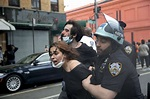 Tear gas, burning cars in US cities during protests of ...