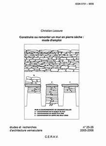 Construire Un Mur En Pierre : construire ou remonter un mur en pierre s che mode d ~ Melissatoandfro.com Idées de Décoration