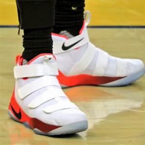 Closer Look at LBJ's Nike LeBron Soldier 11 Hot Orange PE ...