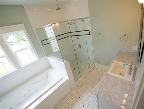 bathroom tub tiles master bathroom suite with subway tile shower tub