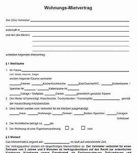 Kündigungsfrist Befristeter Mietvertrag : mietvertrag muster kostenlose ~ Lizthompson.info Haus und Dekorationen