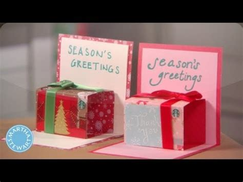 How To Make A Popup Giftcard Holder  Martha Stewart