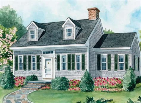 15+ Cape Cod House Style Ideas and Floor Plans ( Interior
