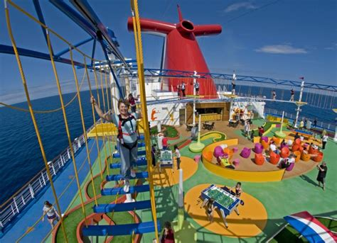 Activities on carnival cruise ships