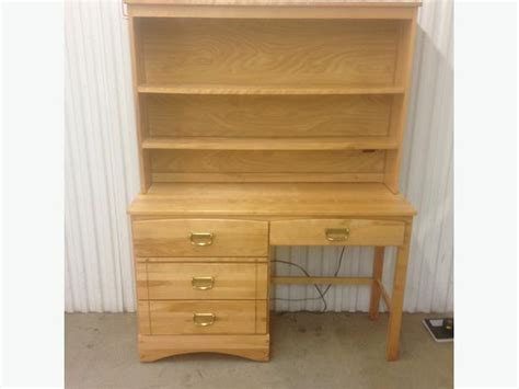 Solid Maple Bookcase by Solid Maple Desk With Matching Bookcase Esquimalt View