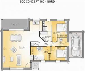 plan achat maison neuve a construire maisons france With plan maison france confort