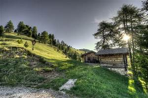 HDR Image of the Hillside at sunset image - Free stock ...