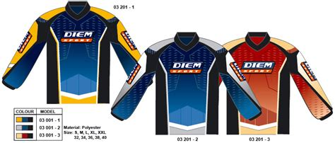 personalized motocross jerseys diem sport custom team uniforms sublimation printed