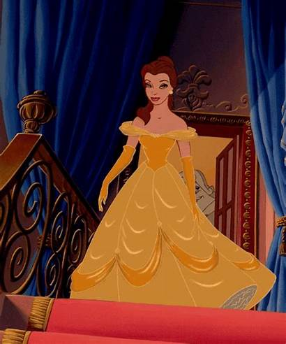 Belle Princess Disney Aesthetic Beast 1991 Pretty