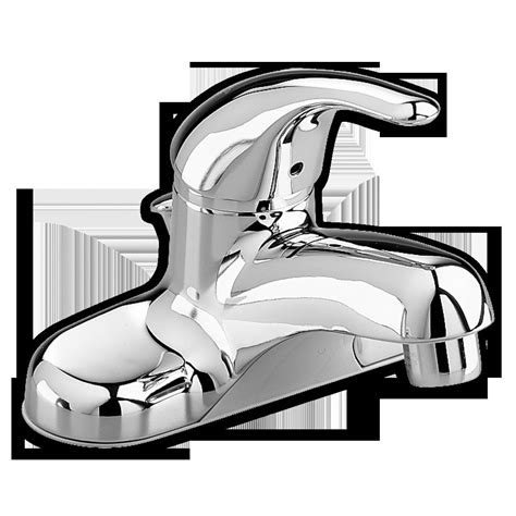 american standard 4 quot centerset bathroom faucet colony without pop up assembly polished