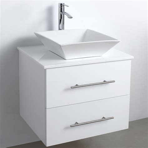 wall vanity cabinet 24 quot wall mounted modern bathroom vanity white