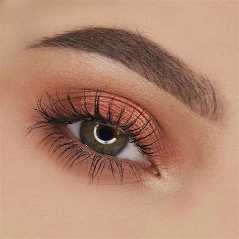 Best 25 Peach Makeup Ideas On Pinterest Peach Eye